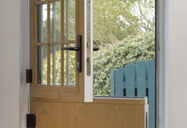 light oak composite stable door