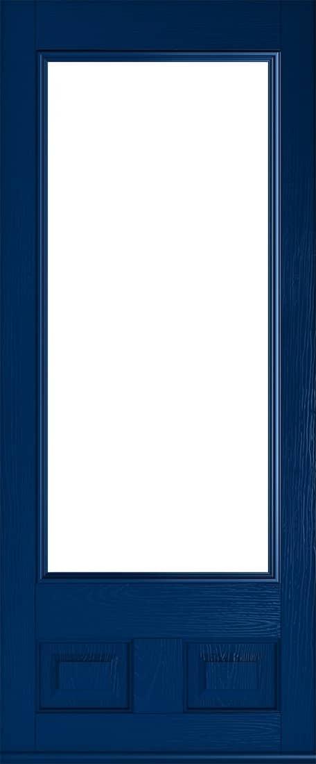 alnwick glazed blue door