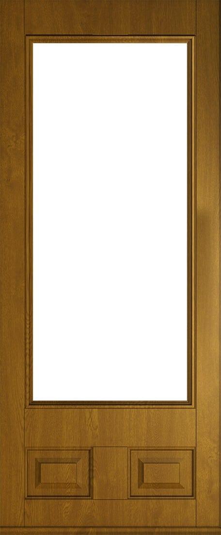 golden oak alnwick glazed front door