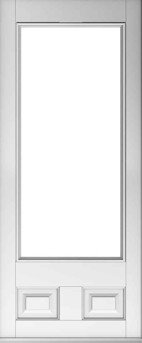 alnwick glazed white door