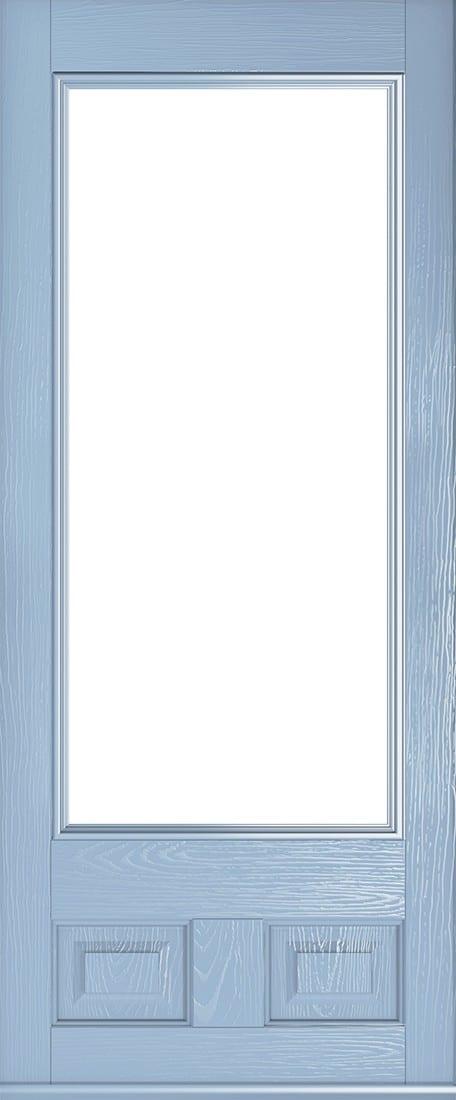 duck egg blue alnwick glazed door