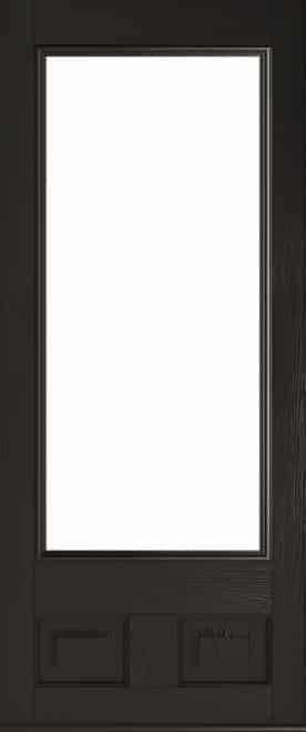 Schwarzbraun Alnwick Composite Door