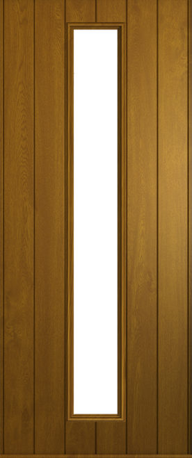 A Solidor Amalfi door in golden oak