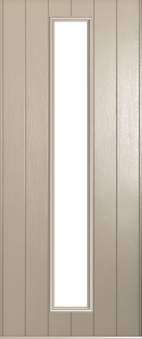 A Solidor Amalfi door in cream