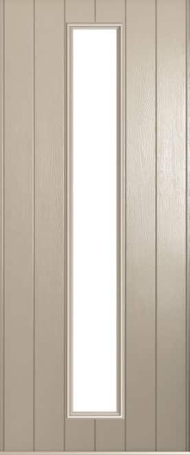 A Solidor Amalfi door in cream