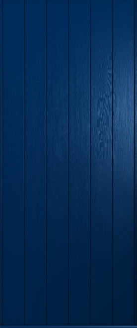 A Solidor Ancona door in solid blue