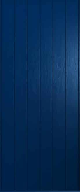 A Solidor Ancona door in solid blue