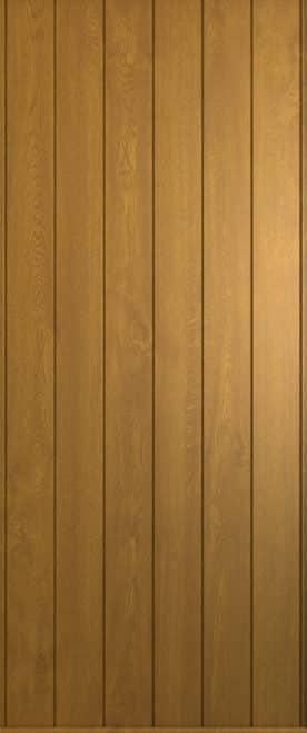 A Solidor Ancona door in rich oak