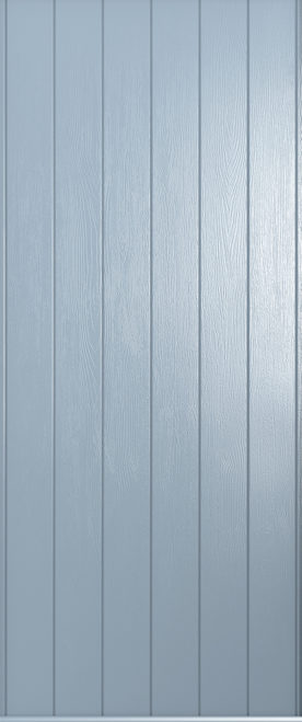 A Solidor Ancona door in duck egg blue