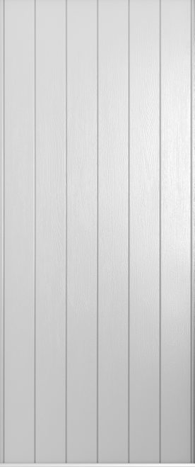 A Solidor Ancona door in foiled white
