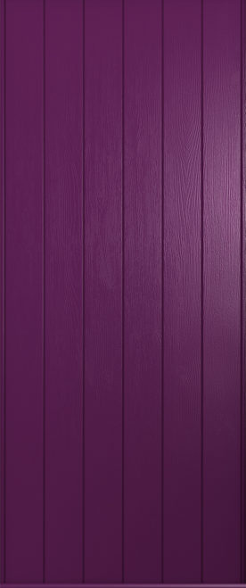 A Solidor Ancona in rich aubergine