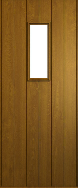 A Solidor Ancona in Golden Oak