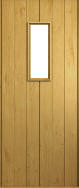 A Solidor Ancona door in Irish Oak