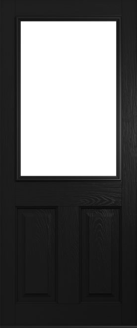 A Solidor Beeston front door in black