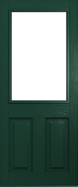 Beeston Green solidor composite door colour