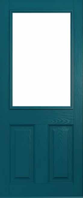 Beeston front door peacock blue