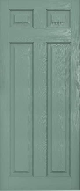 Berkley Solid chartwell green front door