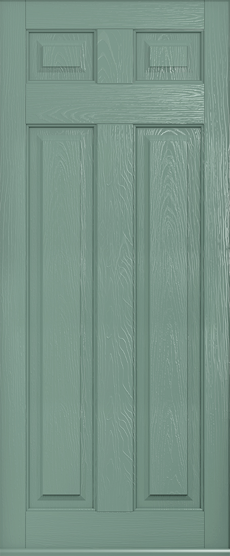 Berkley Solid chartwell green front door