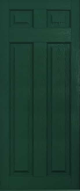 Green berkley solid door