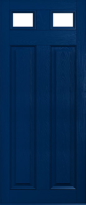 Dark blue glazed Berkley solidor