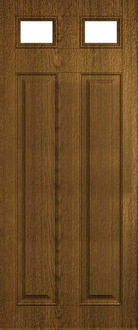 Solid glazed Berkely door