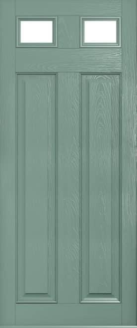 A Solidor Berkley glazed in Chartwell green