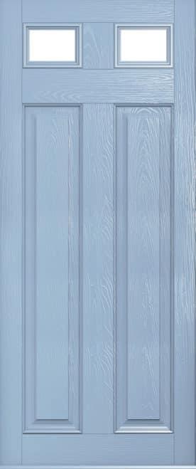 Glazed berkley duck egg blue door