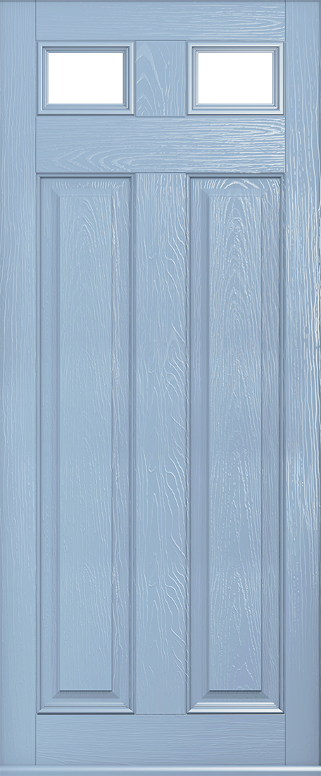Glazed berkley duck egg blue door