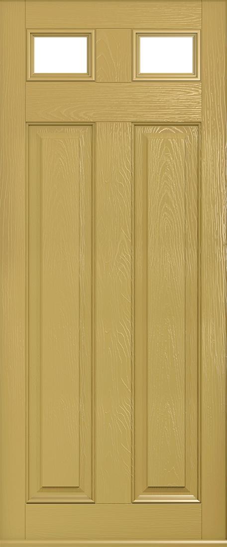 golden sand berkley glazed front door