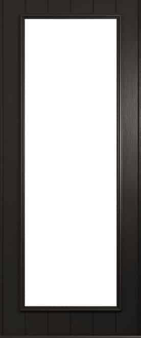 A Solidor Biella front door in schwarzbraun