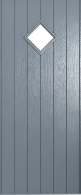 A Solidor Bologna door in French grey