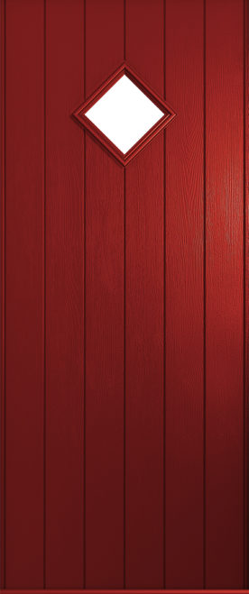 A Solidor Bologna front door in red