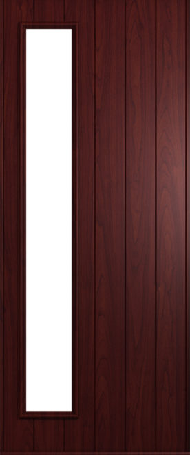A Solidor Brescia front door in Rosewood