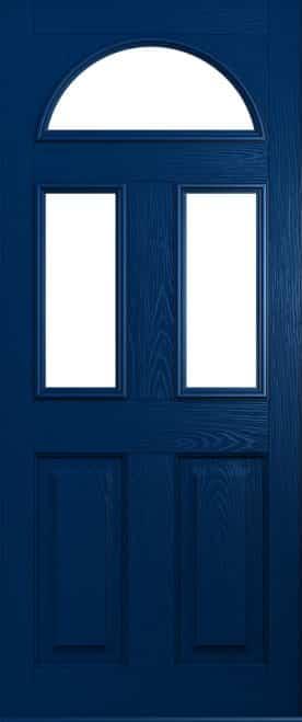 blue conway door
