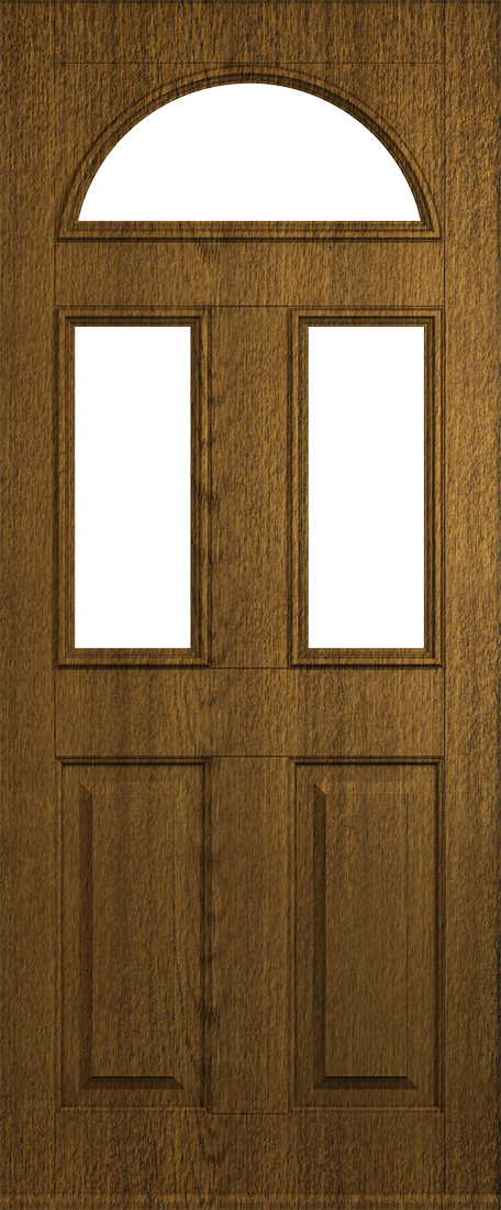 luxury mocha front conway door