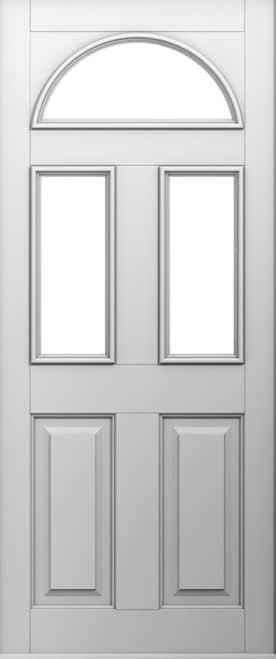 White Conway Door