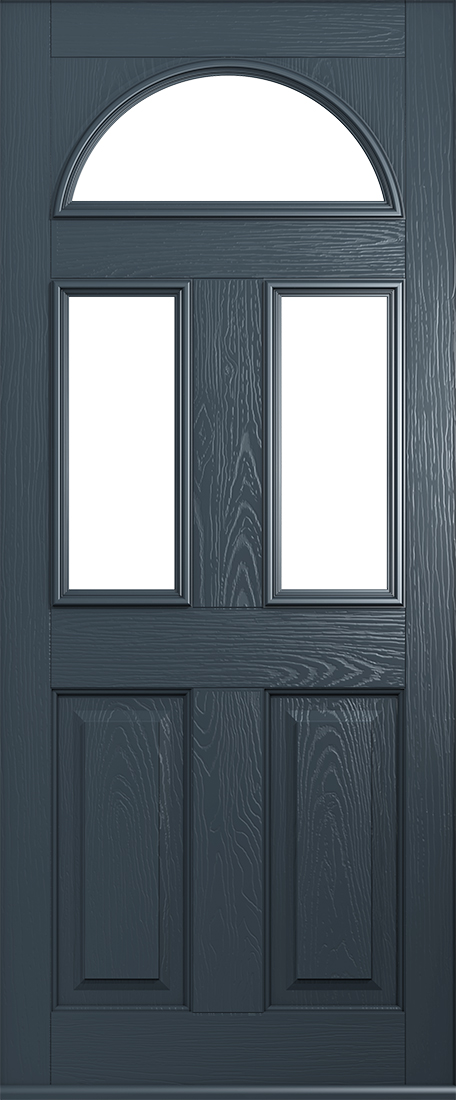 anthracite grey front door