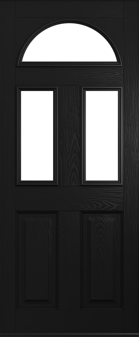 black conway door