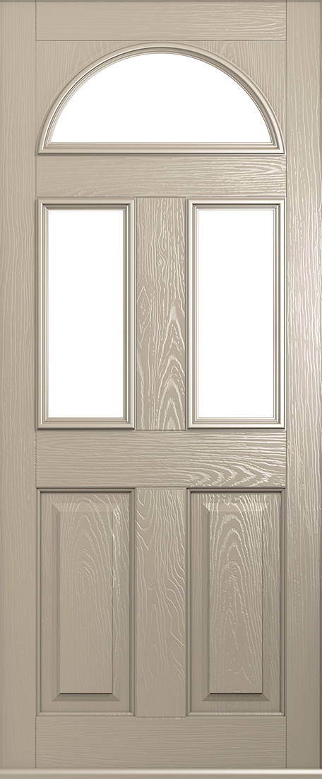 cream conway door