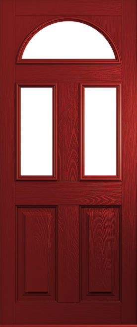 front Red Conway door