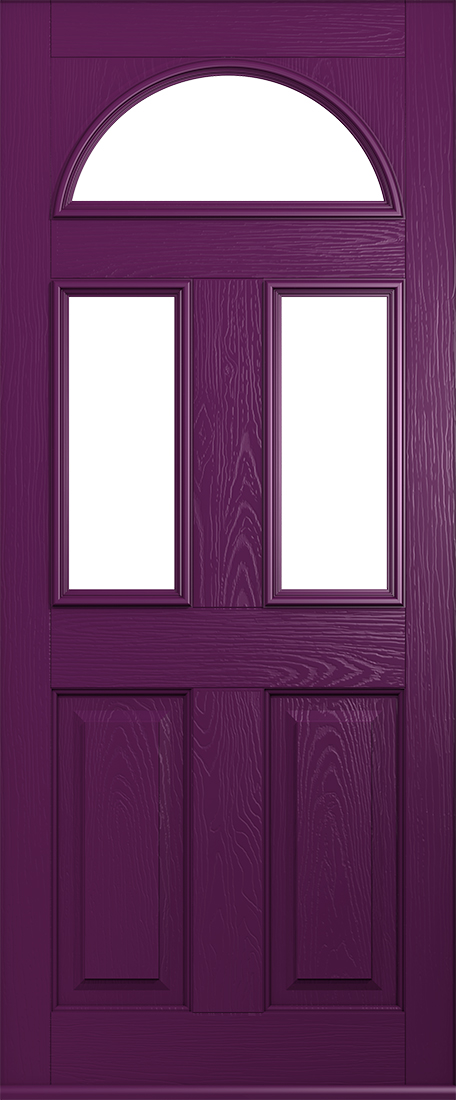 Aubergine conway composite door