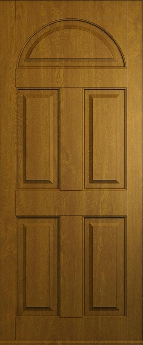 solid golden oak conway door