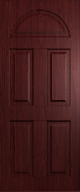 rosewood conway solid front door
