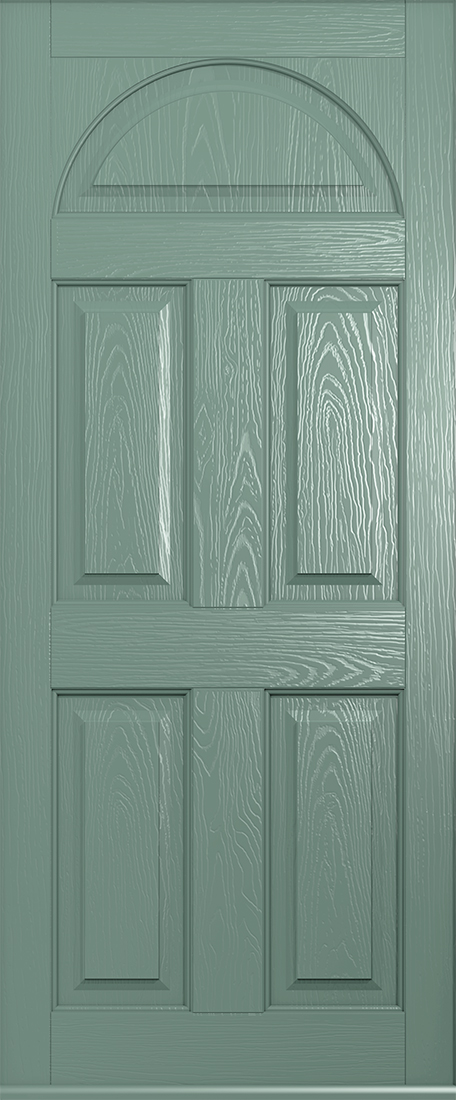 Solid conway chartwell green door