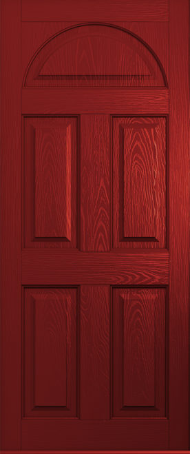 Red Conway Front Door