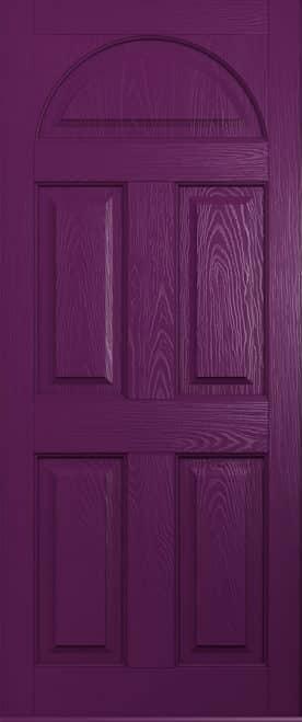 aubergine conway front door