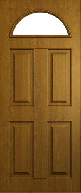 A Solidor Conway in golden oak
