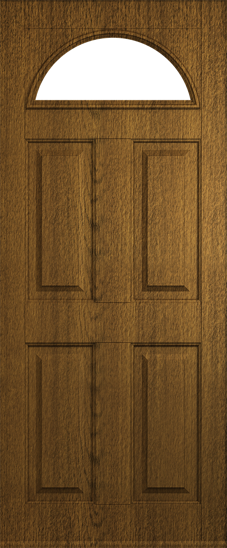 luxury mocha conway door