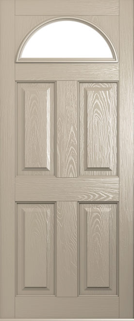 A solidor Conway Door in cream