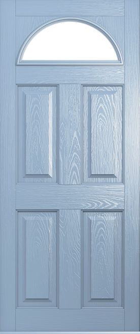 A Solidor Conway door in duck egg blue